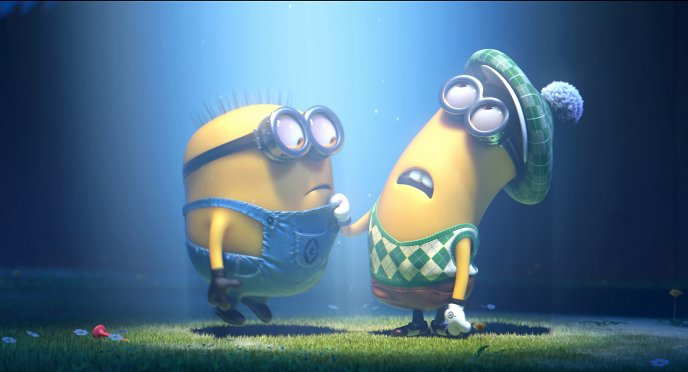 Funny famous characters from Despicable me 2