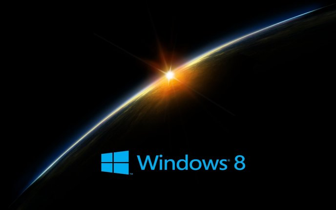 Windows 8 - light from the space
