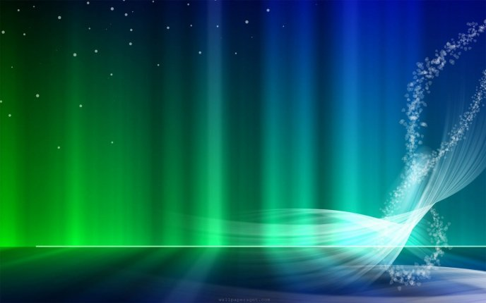 Wallpaper for Windows Vista - cold color games