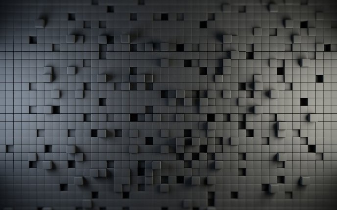 A wall of cubes - a puzzle
