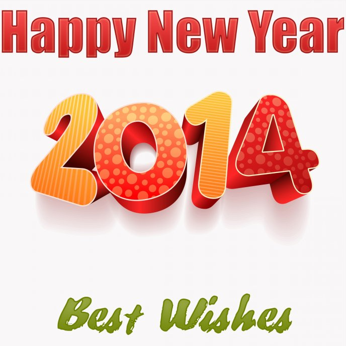 Best wishes for the new year 2014