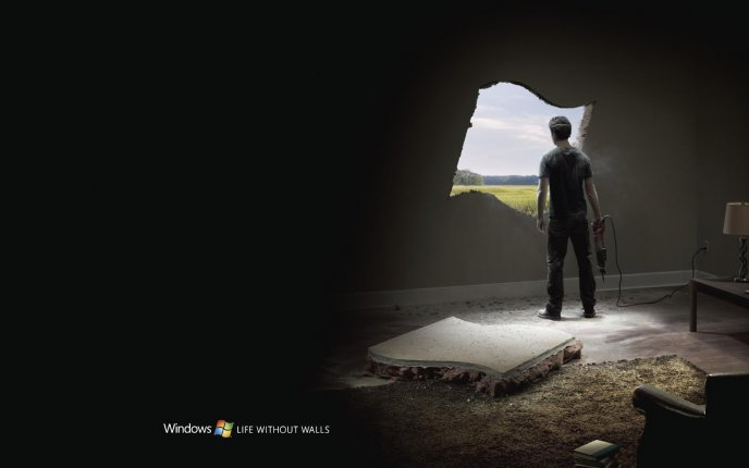 Perfect Windows - Logo Life without walls