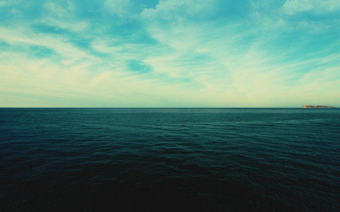 Water as the eye can see - beautiful ocean