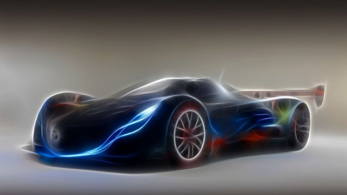 Download Wallpaper New Prototype For A Sport Car   HD Wallpaper. «