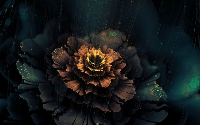 Download Wallpaper Beautiful Abstract Flower