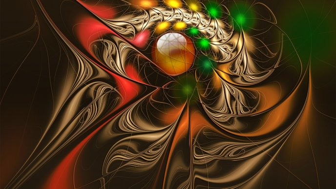Interesting and colorful design art - Abstract wallpaper