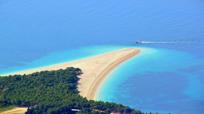 One of the most beautiful beach in the world - Croatia