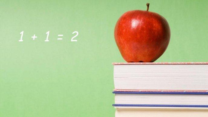 Download Wallpaper Mathematics Equation On The Green Blackboard