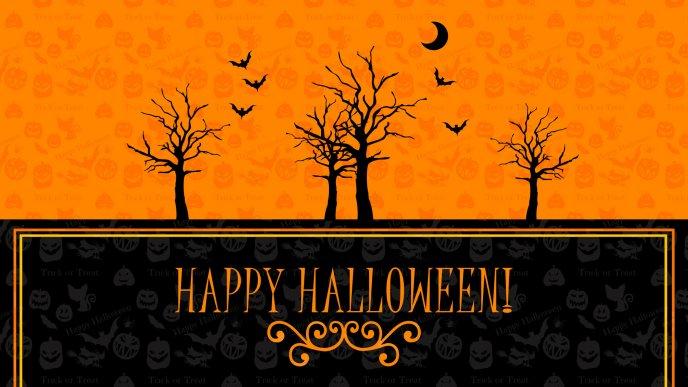 Download Wallpaper Autumn Party   Happy Halloween Night. «