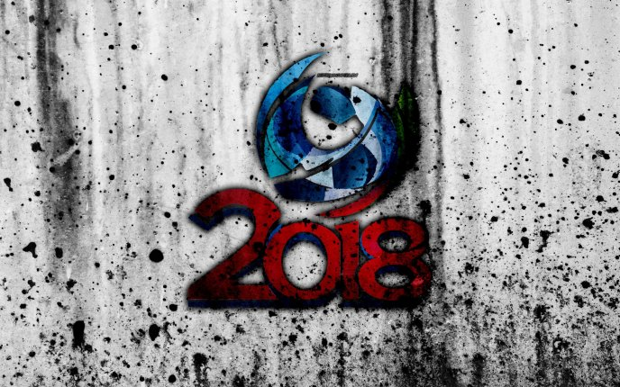 Abstract football wallpaper - Fifa World Cup Russia 2018