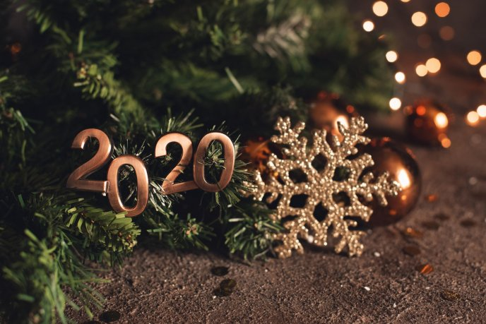 Christmas accessories 2020 - Happy New Year