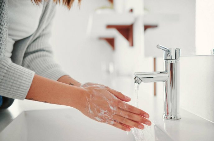 Wash your hands is the message of this days - Coronavirus