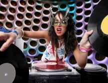 Cool Dj girl