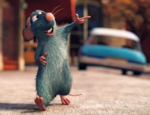 Ratatouille walking