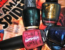 OPI Nail lacquer different colors