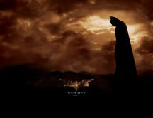 Batman Begins Poster - HD Wallpaper