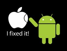 Android fixed the Apple