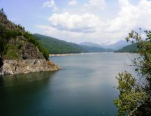 Vidraru lake - beautiful landscape
