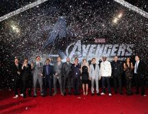 Beautiful photo - The avengers premiere wallpaper
