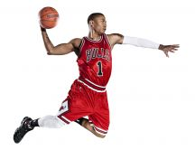 Derrick Rose - basketball player at Bulls