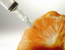 Injection to an orange