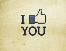 I like you - Facebook - HD wallpaper