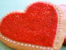 Sugar cookie - heart shape