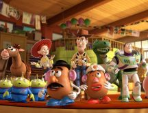 All Toy story's characters - cartoons