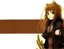 Anime girl - spice and wolf
