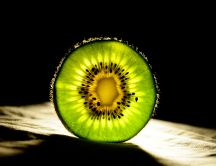 Half of kiwi - backlight