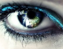 I can see the world through your eyes