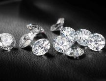 Shiny diamonds HD wallpaper