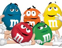 m and m - funny chocolate characters