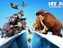 Ice Age 4 - Continental drift - Manny versus pirates