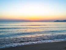 Mallorca Beach at sunrise in Ca'n Picafort