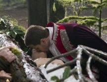 Once upon a time - The magic kiss