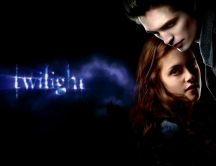 Twilight - movie poster - Bella and Edward Cullen