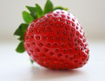 Delicious strawberry HD wallpaper