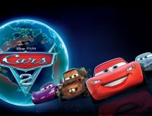 Cars 2 - animation movie HD wallpaper