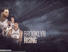 Brooklyn Nets Rising - famous basketball player HD wallpaper
