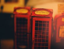 United Kingdom phone booths - miniature HD wallpaper