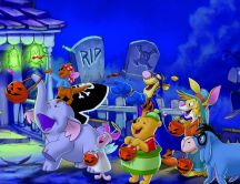 Cartoons characters - Halloween Costumes HD wallpaper