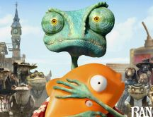 Rango - savior of the desert HD wallpaper