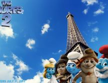 The Smurfs 2 - the cutest blue people will return in 2013