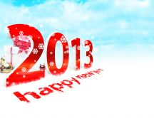 Happy New Year  - Welcome 2013 HD wallpaper