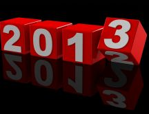 Few days left until 2013 is here HD wallpaper