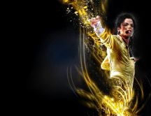 Glorious Michael Jackson - the king of pop music