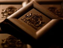 Chocolate - a sweet undeniable - Macro HD wallpaper
