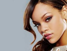 Beautiful singer - Rihanna close up