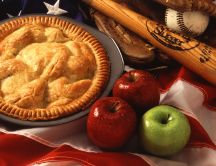 Delicious apple pie - HD wallpaper